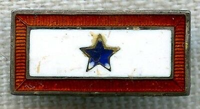 Sterling WWII Son-in-Service Pin