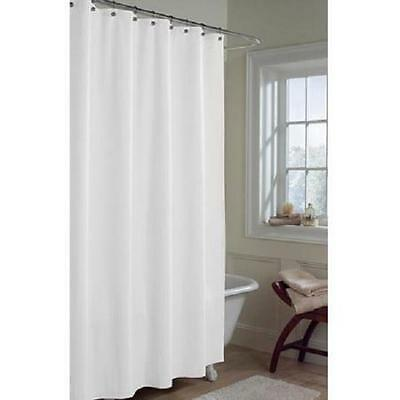 Fabric Shower Curtain Or Liner 70 X 72 White Top Quality
