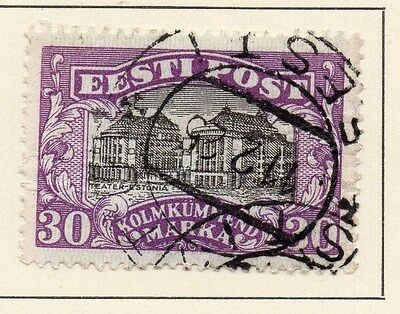 Estonia 1924 Early Issue Fine Used 30M. 013091
