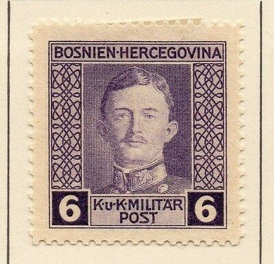 Bosnia Herzegovina 1917 Early Issue Fine Mint Hinged 6h. 013141