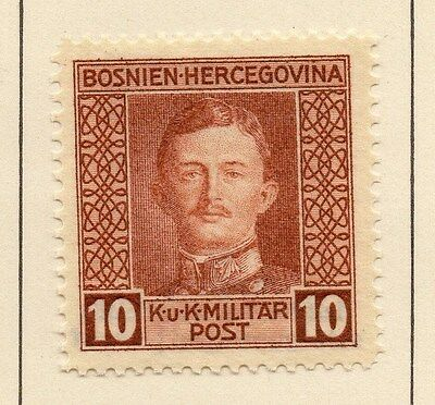 Bosnia Herzegovina 1917 Early Issue Fine Mint Hinged 10h. 013142