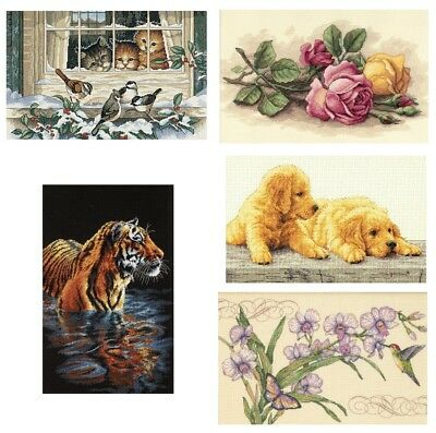 Dimensions 14x9 Inch Counted Cross Stitch Kit Cotton Aida SELECT YOUR DESIGN!