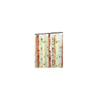 Watershed Sprouting Stripes Shower Curtain