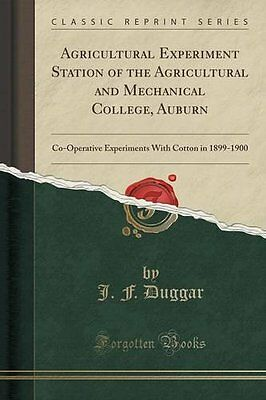 Agricultural Experiment Station of the Agricultural and Mechanical College, Aubu