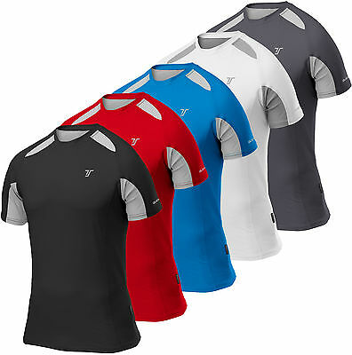 Thorogood Sports Men's Quick-Dry Short Sleeve Performance Training Running Top