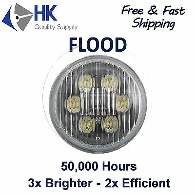 PAR 36 Round LED Flood Bulb for Truck Tractor Work Light Replacement 35w 4.5""