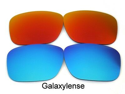 87de7fa875fd Galaxy Replacement Lenses For Oakley Holbrook Sunglasses Red&Blue Polarized!