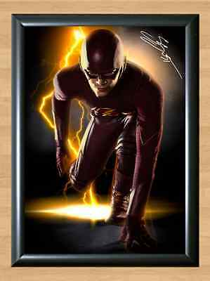 Grant Gustin The Flash Signed Autographed A4 Print Photo Poster TV Series dvd