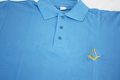 Masonic Golf Polo Shirt Lge and XL (Free Delivery)