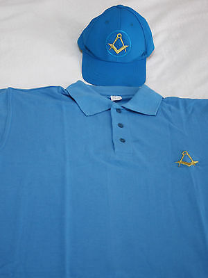 Masonic Hat and Shirt Golf Set Lge & XL (Free Delivery)