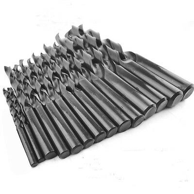 10pcs Micro HSS Twist Drilling Bit Straight Shank Electrical Drill Tool 2mm-14mm