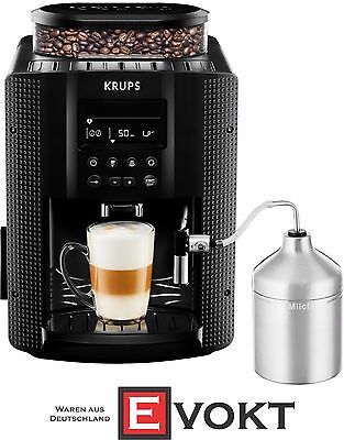 KRUPS EA8160 Coffee Machine (1.8 l, 15 bar, LC Display, Car Cappuccino)