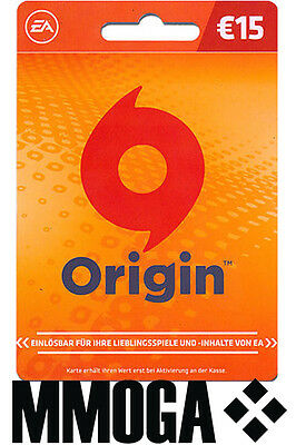EA Game Card EUR 15€ - 15 EURO EA Origin Store Guthaben Key f. Deutschland - DE