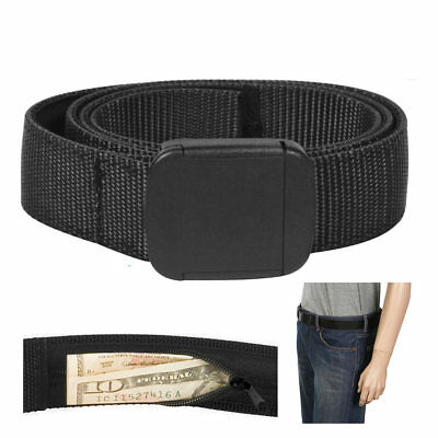 "Travelon Security Friendly Money Belt Black XL 42""-44"" Travel Secure Wallet Id"