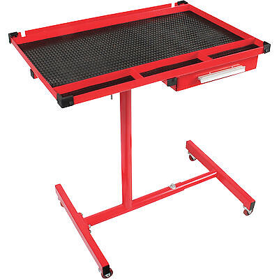 Arcan Adjustable Work Table with Drawer, Model# AR8019