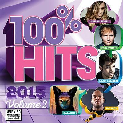 100% Hits 2015 Volume 2 Various Artists Cd New