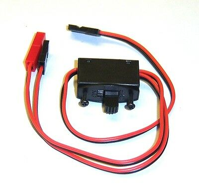 C6010 RC Model Receiver On Off Battery Switch JR Plug 2 x Male / 1 x Female JST