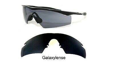 Galaxy Replacement Lenses For Oakley M Frame Strike Black Polycarbonate 100%UVAB