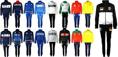 Football Tracksuit Bottom Boys New Top Training Kit Set Size Age 4-12 Years Bnwt