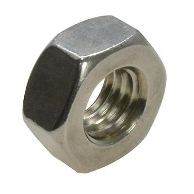Qty 50 Hex Standard Nut M8 (8mm) Stainless Steel SS 304 A2 70