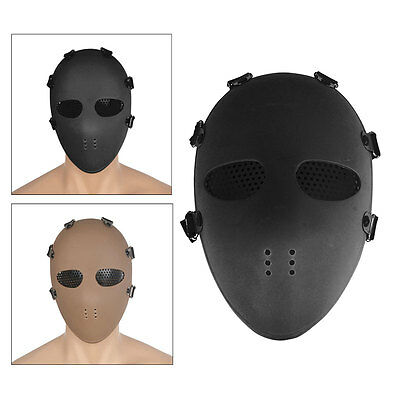 Cosplay Airsoft Paintball Full Face Protection Skull Mask CS Army Tactical Gear