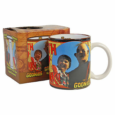 GOONIES MUG - Sloth Loves Chunk - Retro 80's Kids Film Truffle Shuffle KITCHEN