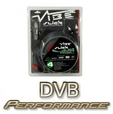 Vibe VSAWK4 Slick 4 Gauge Car Audio Amplifier Wiring Kit