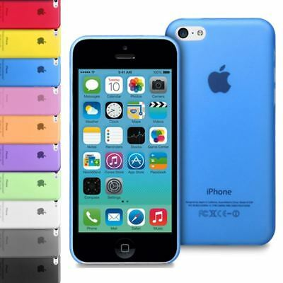 Slim Ultra Thin 0.5Mm Transparent Clear Plastic Back Case Cover For Iphone 5C