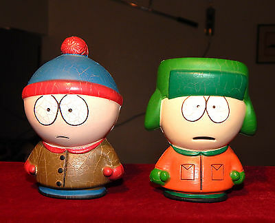 Figurines Mousses, South Park , Kyle Et Stan, Edition Comedy Central 1998
