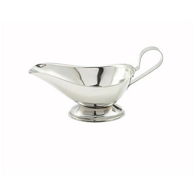 Winco GBS-8, 8-Ounce Stainless Steel Gravy Boat
