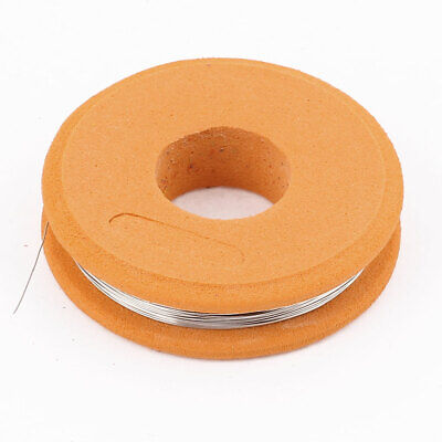 Nichrome 80 Round Wire 0.2mm 32 Gauge AWG 25ft Roll 10.58 Ohms/ft Resistance