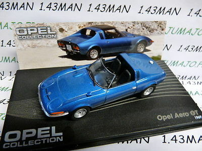 voiture 1/43 IXO eagle moss OPEL collection : GT Aéro 1969