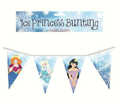 12 ft Frozen ice princess bunting / banner / party decoration / Birthday