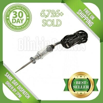 Heavy Duty 6-12V Circuit Tester Automotive Electrical Test Lamp Probe Light 10B