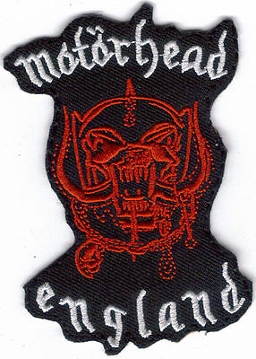 Motorhead England Embroidered Patch !