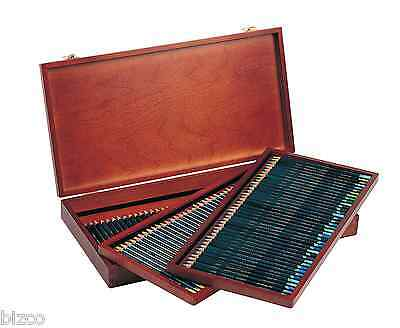 Derwent Artists Colour Pencils Full Set of 120 in Wooden Box