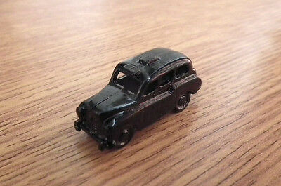 1/12 Dolls House miniature Metal Black Cab Taxi Driver Toy Car Dinky cars LGW