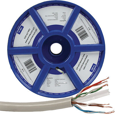 100M CAT6 FTP/STP Stranded Cable Reel-Quality Shielded CCA-Ethernet Network RJ45
