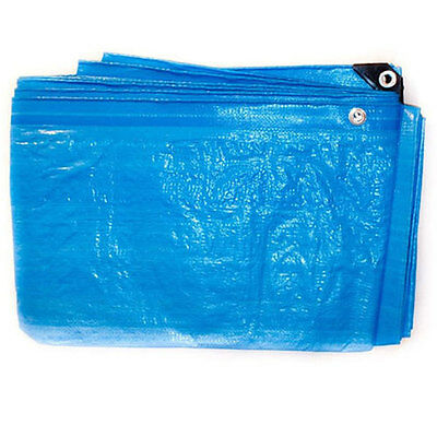 5.4m x 3.6m Blue Waterproof Heavy Duty Tarpaulin