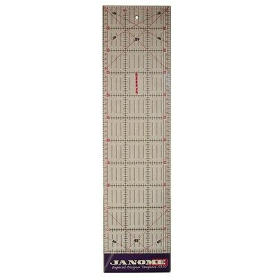 Janome Transparent Quilting Ruler 60cm