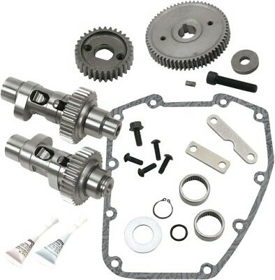 S S Cycle - 330-0335 - .635 Gear Drive Camshaft Kit 06 Dyna/2007-16 Big Twin