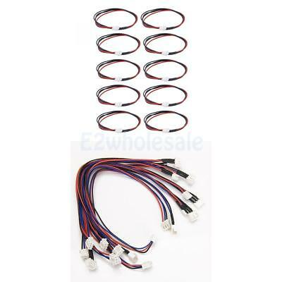 20Pcs JST-XH 22cm 2S+3S LIPO Balance Extension Lead Charger Cable Wire ADAPTER