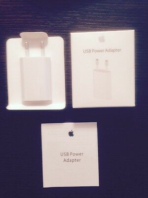 Cargador Adaptador Enchufe Pared Original APPLE iPhone 4 4S 5 5S 6 6+ PRECINTADO