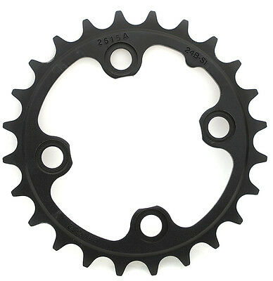 9 Speed Black Truvativ SRAM TruShift MTB 22T V3 Steel Chainring BCD 64mm