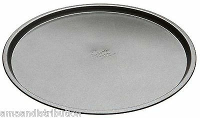 "2 x 12"" NON-STICK PIZZA PAN COOKING STAINLESS STEEL ROUND OVEN TRAYS 32CM"