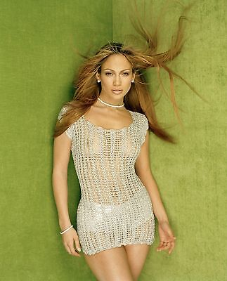 Jennifer Lopez Jlo Sexy Movie Star Actress Singer 8X10 Color Photo Picture Hot!