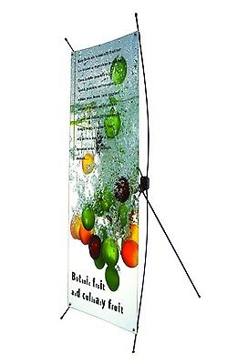 X banner stand only,suitable for poster of  60CMX160CM