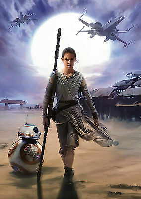 Star Wars: Episode 7 - The Force Awakens (2015) V6 - A1/A2 Poster **SEE OFFER**
