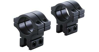 "BKL 263 3/8"" & 11mm Dovetail Rimfire Airgun Rifle Scope Mount 1"" Rings Med/high"
