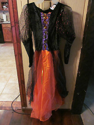 Girls Witch Halloween Costume Size Girls Large
